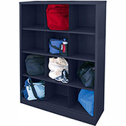 Sandusky Cubbie Storage Organizer - 12 Sections - Navy Blue