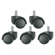 Bevco 3850/5 Dual Wheel Carpet Casters for Base