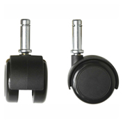 Bevco CADS/5 Dual Wheel Hard Floor Casters for Tubular Steel Base