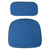 Bevco CUF Fabric Seat & Back Cushions, Blue