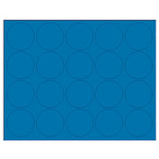 "Whiteboard Magnets - 3/4"" Circles - Blue - 20/Pack"