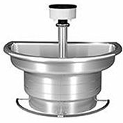 Bradley S93-530 Stainless Steel 4 Person Classic Washfountain W/ Foot Bar
