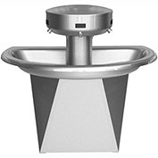 Bradley S93-630 Sentry 3 Person Semi-Circular Washfountain W/Infrared Activation