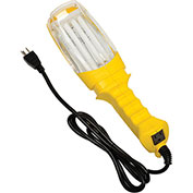 Bayco® Professional Double-Brite Fluorescent Work Light & Tool Tap Sl-908, 26W, Yellow