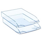 CEP Stackable Letter Tray Ice Blue Single Pack