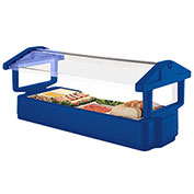 Cambro 5FBRTT186 - Table Top Model Food Bar 33x63, Navy Blue