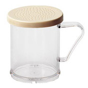 Cambro 96SKRD135 - Shaker With Salt/Pepper Lid, Clear - Pkg Qty 12