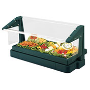 Cambro BBR720519 Buffet Bar with Sneeze Guard 24 x 73, Green