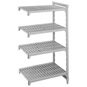 Camshelving® Add-On Unit - 4 Vented Shelves 18x36x64
