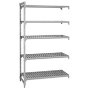 Camshelving® Add-On Unit - 5 Vented Shelves 24x60x64