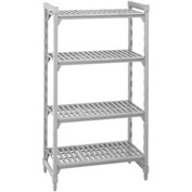 Camshelving® Stationary Starter - 4 Vented Shelves 24x48x72