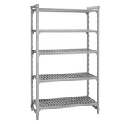 Camshelving® Stationary Starter - 5 Vented Shelves 24x48x72