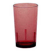 Cambro D8156 - Tumbler Delmar, 8 Oz., Ruby Red - Pkg Qty 36