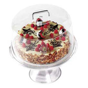 Cambro RD1200CW135 - Display Cake Cover Round 12x12, Clear