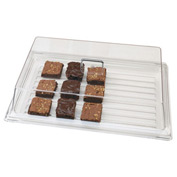 """Cambro RD926CW135 - Display Rectangular Cover 9"""" x 26"""", Clear"""