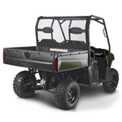 Classic Accessories UTV Rear Window - 2009 Polaris Ranger XP/HD - 18-029-010401-SC