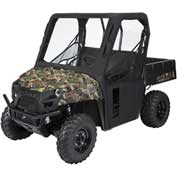 Classic Accessories UTV Cab Enclosure, Polaris Ranger Mid, Black - 18-117-010401-00