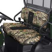 Classic Accessories UTV Bench Seat Cover Set, Kawasaki Mule 400, Vista Camo - 18-133-016003-00