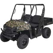 Classic Accessories UTV Bench Seat Cover Set, Polaris Ranger Mid, Black - 18-140-010403-00