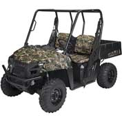 Classic Accessories UTV Bench Seat Cover Set, Polaris Ranger 800, Vista Camo - 18-142-016003-00