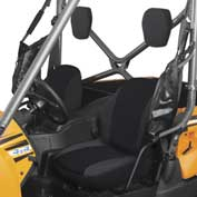 Classic Accessories UTV Bucket Seat Cover Set, Yamaha Rhino, Black - 18-144-010403-00