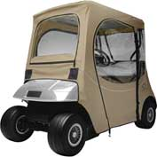 Classic Accessories Fairway Fadesafe™ E-Z-Go Golf Car Enclosure, Sh Rf, Khaki 40-058-335801-00