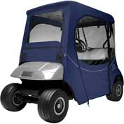 Classic Accessories Fairway Fadesafe™ E-Z-Go Golf Car Enclosure, Sh Rf, Navy 40-059-335501-00