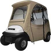 Classic Accessories Fairway Fadesafe™ Club Car Precedent Enclosure,ShRf, Khaki 40-060-335801-00