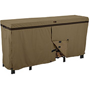Classic Accessories Hickory Log Rack Cover Fits 8 Foot, Tan - 55-203-012401-EC