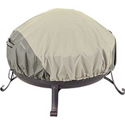 Classic Accessories Belltown Fire Pit Cover Round, Grey - 55-261-011001-00