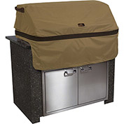 Classic Accessories Hickory Built-In BBQ Grill Top Cover Medium, Tan - 55-332-032401-EC