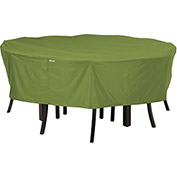 Classic Accessories Sodo Patio Table and Chair Cover Round, Large, Herb - 55-346-011901-EC