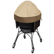 Classic Accessories Veranda Ceramic BBQ Grill Dome Cover, Large, Pebble - 55-408-041501-00