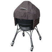 Classic Accessories Ravenna Ceramic BBQ Grill Dome Cover, Large, Taupe - 55-418-045101-EC
