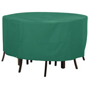 Classic Accessories Atrium Table and Chair Cover Round Green - 55-433-041101-11
