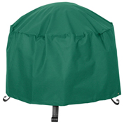 Atrium Round Fire Pit Cover, Small, Green