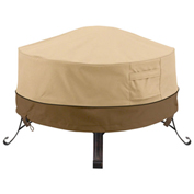 Classic Accessories Veranda Full Coverage Fire Pit Cover, Round, Large - 55-489-011501-00
