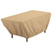 Classic Accessories Terrazzo Coffee Table Cover Sand - 59962