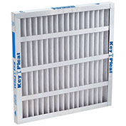 "Purolator® 5251504837 Self-Supported Pleated MERV 8 Filter 24""W x 24""H x 4""D - Pkg Qty 6"