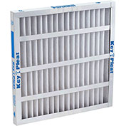"Purolator® 5251572544 Self-Supported Pleated MERV 8 Filter 12""W x 24""H x 4""D - Pkg Qty 6"