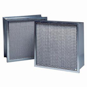 "Purolator® 5360649934 95 Series Box Construction MERV 14 Serva-Cell PV Filter 20""W x 24""H x 6""D"