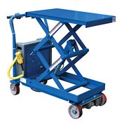 Vestil Traction Drive Hydraulic Elevating Cart CART-2000-CTD