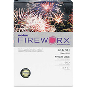"Colored Paper - Boise® FIREWORX MP2207CY - 11"" x 17"" - Crackling Canary - 500 Sheets/Ream"