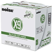 """Boise® SPLOX Paper Delivery System SP8420P, 3-Hole, 8-1/2"""" x 11"""", White, 2500/Carton"""