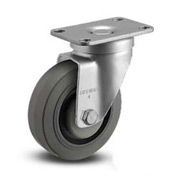 "Albion® Institutional Caster - Swivel 3-1/2"" Diameter 300 Cap. Lbs."