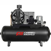 Campbell Hausfeld Two-Stage Electric Air Compressor CE7006, 208V-230V/460V, 7.5HP, 3PH, 80 Gal