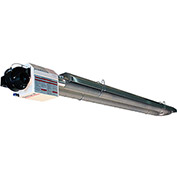 Omega II® Natural Gas Infrared Heater 0920.15NG.U - U-Configuration, 15'L, 50000 BTU