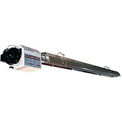 Omega II® Natural Gas Infrared Heater 0930.50NG.S - Straight Configuration, 50'L, 125000 BTU