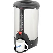 Classic Coffee Concepts SSU50 - Coffee Percolator / Urn, 50-Cup, Stainless Steel, 120V