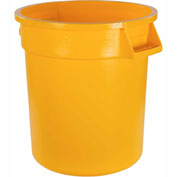 Bronco™ Waste Container 55 Gal - Yellow - Pkg Qty 2